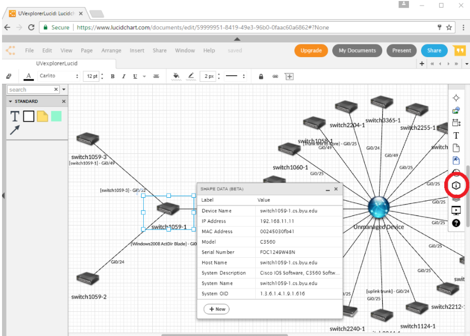 uvexplorer integration  u2013 lucidchart